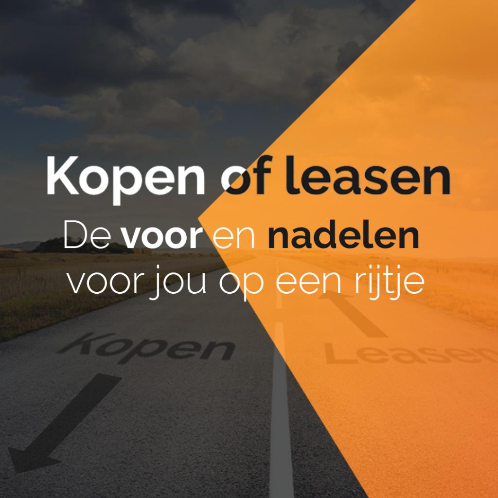 Kopen of leasen