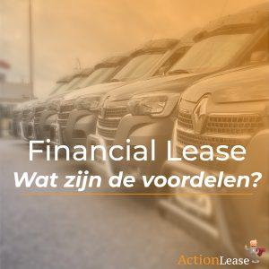 Financial Lease - Wat zijn de voordelen